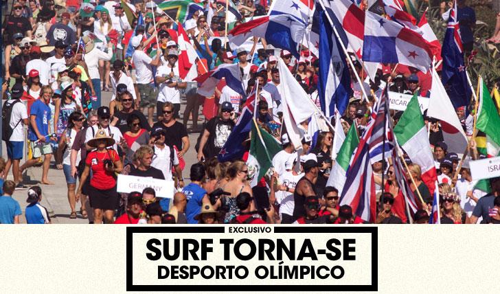 32773Surf torna-se (oficialmente) desporto olímpico