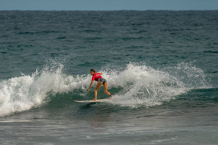 Carol Henrique rasga para amealhar pontos para Portugal. Photo by Evans | ISA