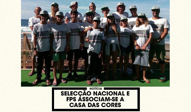 """33681Selecção Nacional e FPS associam-se a causa social – """"Casa das Cores"""""""