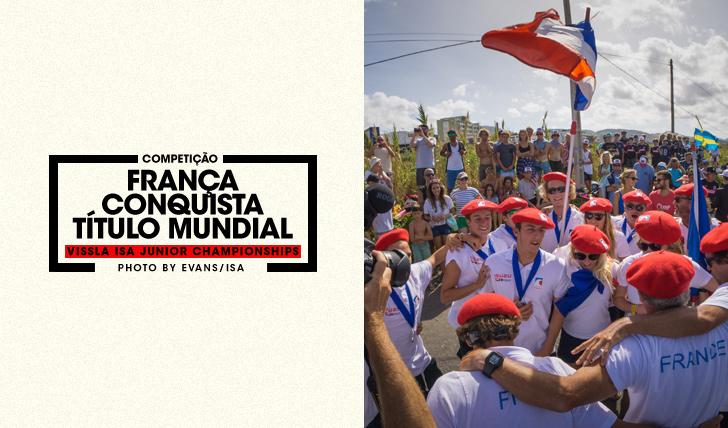 33853França conquista primeiro título mundial no Vissla ISA World Junior Championship