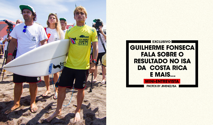 33445Guilherme Fonseca fala sobre o seu resultado na Costa Rica | Mini-Entrevista