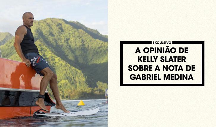 33611Kelly Slater fala sobre a nota de Gabriel Medina