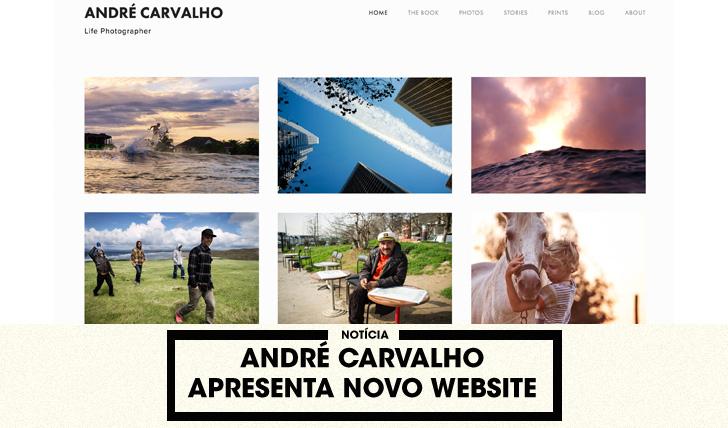 33968André Carvalho apresenta novo website