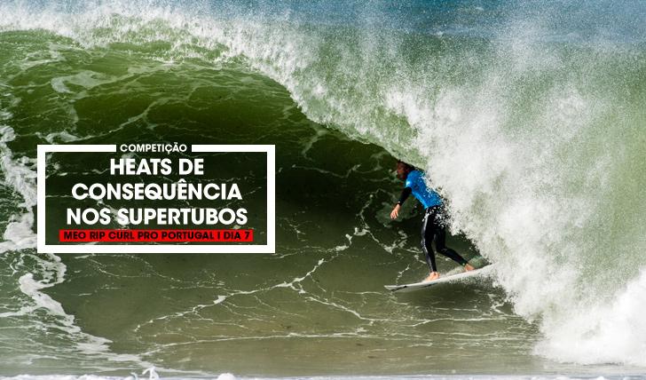 34496Meias finais definidas em Supertubos de consequência | MEO Rip Curl Pro Portugal | Dia 7