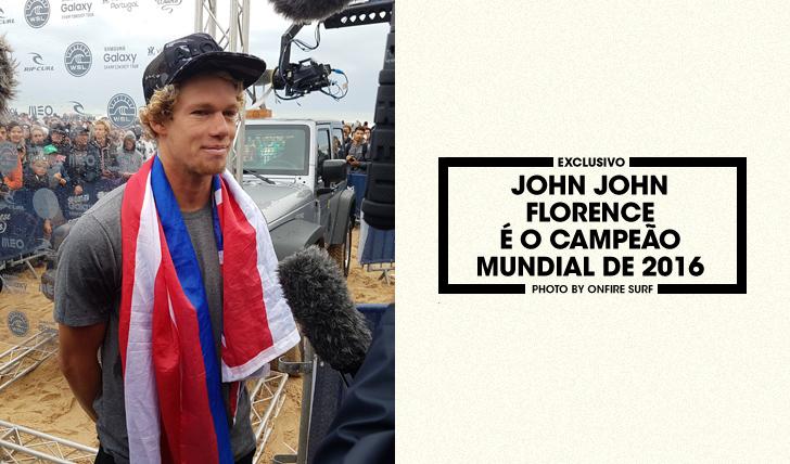 34548John John Florence sagra-se campeão mundial de 2016