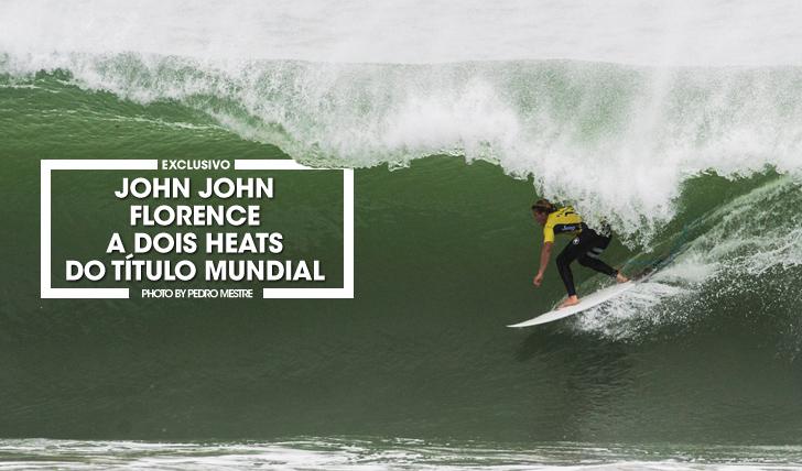 34542John John Florence a dois heats do título