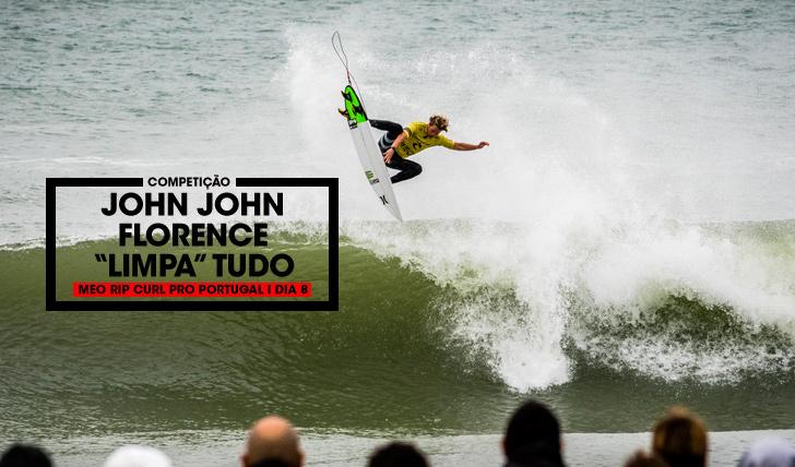"""34551John John Florence """"limpa"""" tudo no MEO Rip Curl Pro Portugal"""