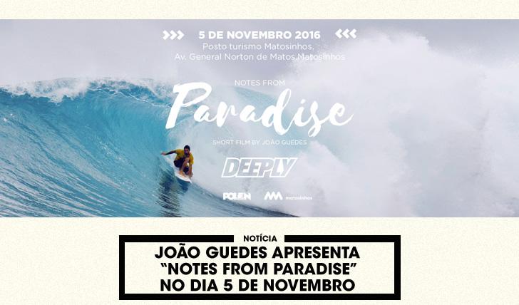 """34675João Guedes apresenta """"Notes from paradise"""" em Matosinhos"""