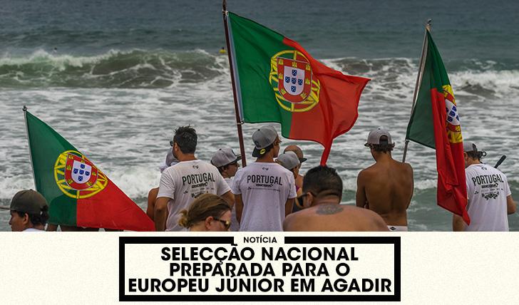 35075Selecção Nacional preparada para o Europeu Júnior em Marrocos
