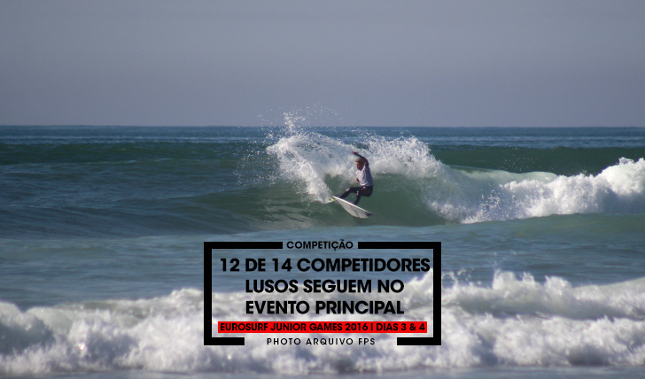 3523512 de 14 surfistas lusos seguem no main event do EuroSurf Junior | Dias 3 & 4