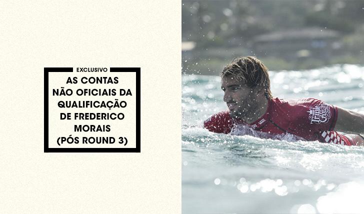 35113As contas não oficiais da qualificação de Frederico Morais após round 3