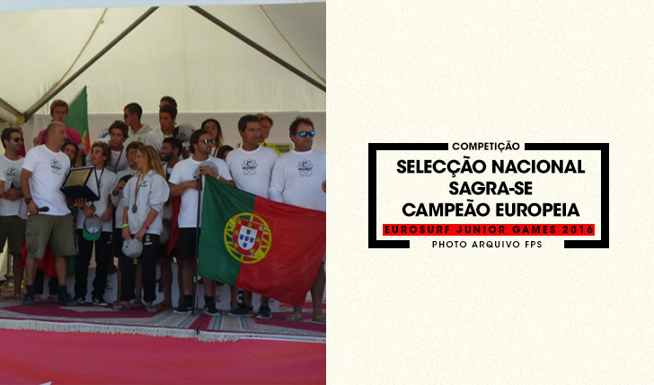 35276Selecção Nacional vence EuroSurf Junior 2016