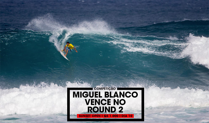 35788Miguel Blanco vence no round 2 do Sunset Open