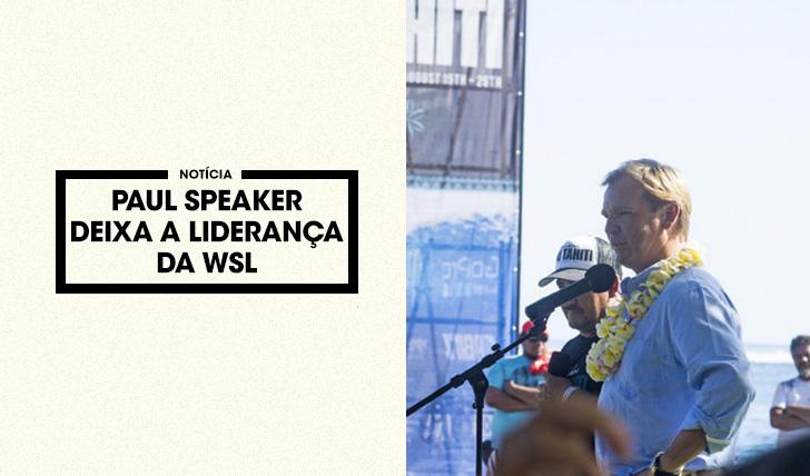 35619Paul Speaker deixa a liderança da WSL