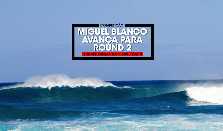 35713Miguel Blanco no round 2 do Sunset Open