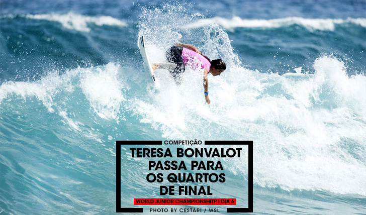 35567Teresa Bonvalot nos 1/4s de final do World Junior Championship 2017