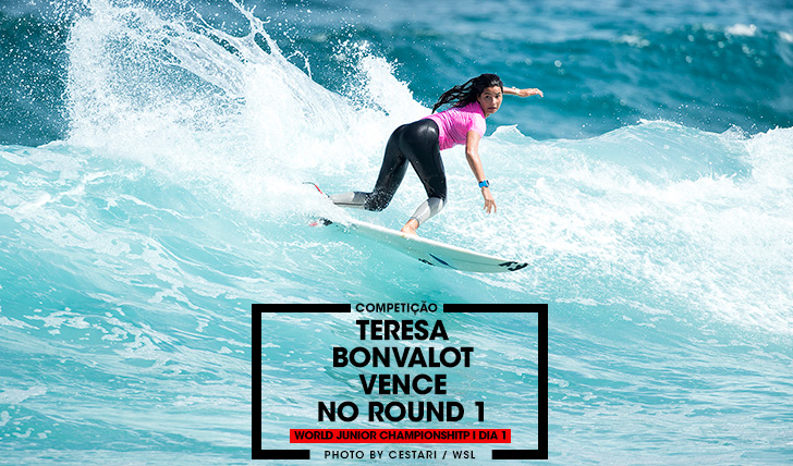 35507Teresa Bonvalot arranca com o pé direito no World Junior Championship 2017