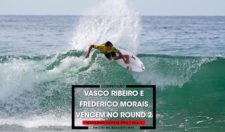 36110Vasco Ribeiro e Frederico Morais no round 3 do Maitland & Port Stephens Toyota Pro | Dia 2