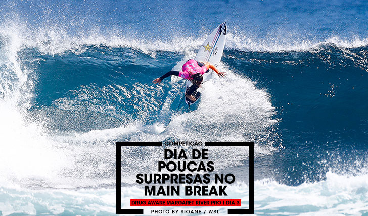 "36899""Suspeitas do costume"" nas fases finais do Drug Aware Margaret River Pro"