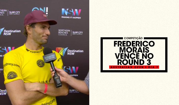 36276Frederico Morais vence no round 3 do Australian Open