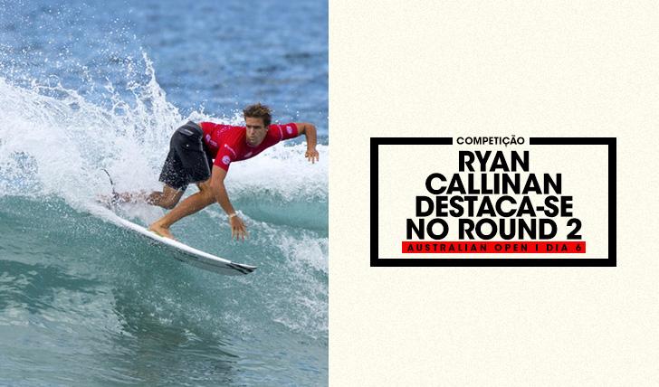 36264Ryan Callinan em destaque no round 2 do Australian Open