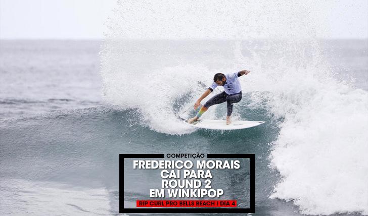 37213Frederico Morais cai para o round 2 no Rip Curl Pro Bells Beach | Dia 4