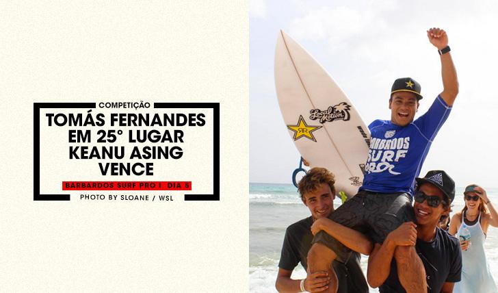 37262Keanu Asing vence em Barbados | Tomás Fernandes em 25º lugar