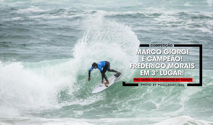 37492Marco Giorgi vence Pro Santa Cruz | Frederico Morais em 3º lugar