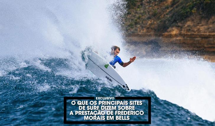 37291O que os principais sites de surf disseram sobre Frederico Morais durante o Rip Curl Pro Bells Beach