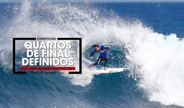 36919Quartos de final definidos no Drug Aware Margaret River Pro