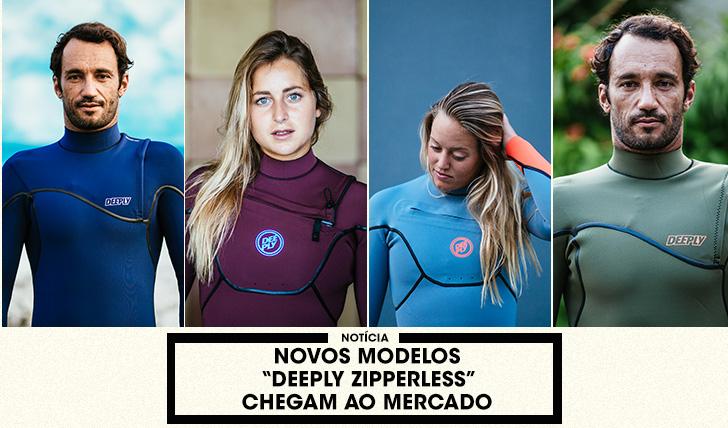 """38074Novos modelos """"Deeply Zipperless"""" chegam ao mercado"""