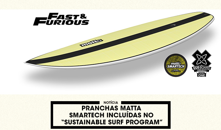"37900Pranchas MATTA SMARTech incluídas no ""Sustainable Surf Program"""