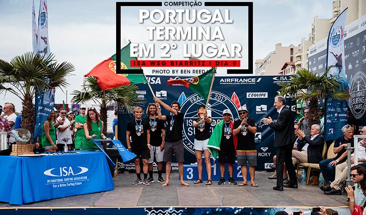 38010Selecção portuguesa é vice-campeã no ISA WSG de Biarritz