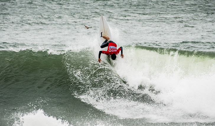 Francisco Alves - Photo by Pedro Mestre/Liga MEO Surf