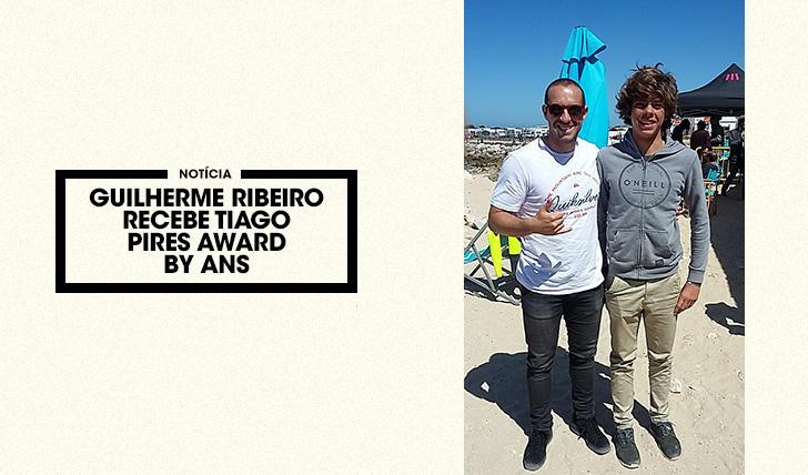 38474Guilherme Ribeiro recebe o Tiago Pires Award by ANS