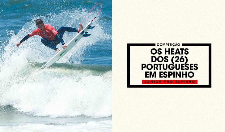 38421Os heats dos (26) surfistas portugueses no Junior Pro Espinho