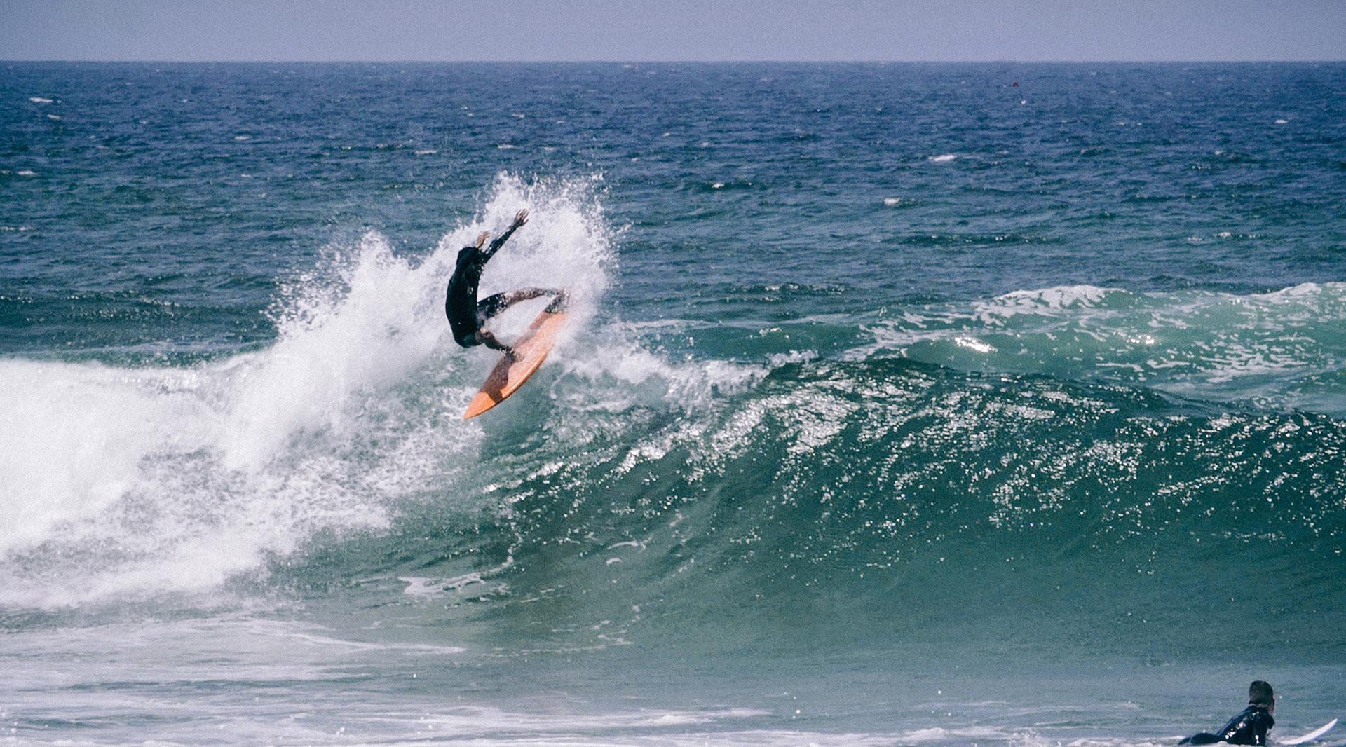 O surf não ficou para trás nesta fase - Phot by White Flag Productions