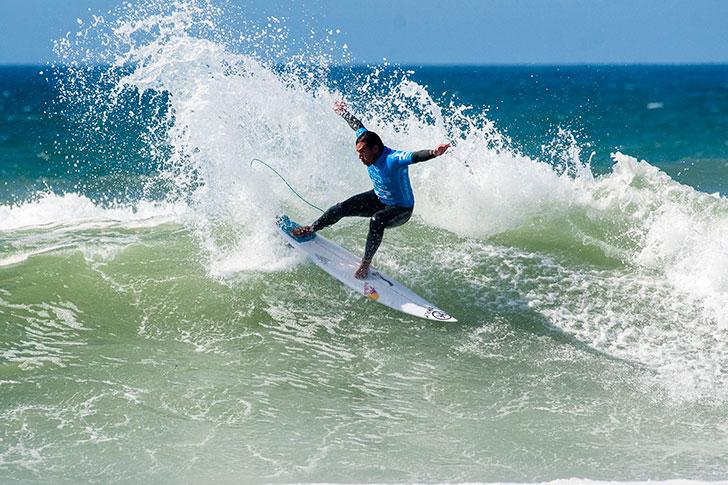 Vasco Ribeiro foi traído pela escolha de ondas.