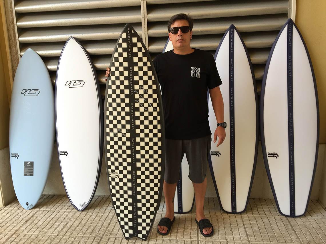 """46918Dr. Ding Boardshop Carcavelos torna-se """"hub"""" para a Hayden Shapes em Portugal"""