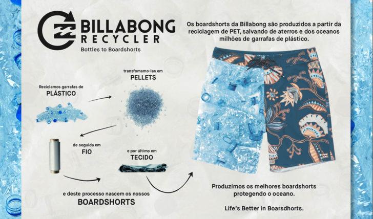 49571Billabong produz gama completa de boardshorts com materiais reciclados