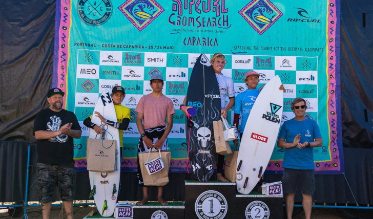 50744Martim Paulino & Beatriz Carvalho qualificam-se para a final mundial do Rip Curl Grom Search