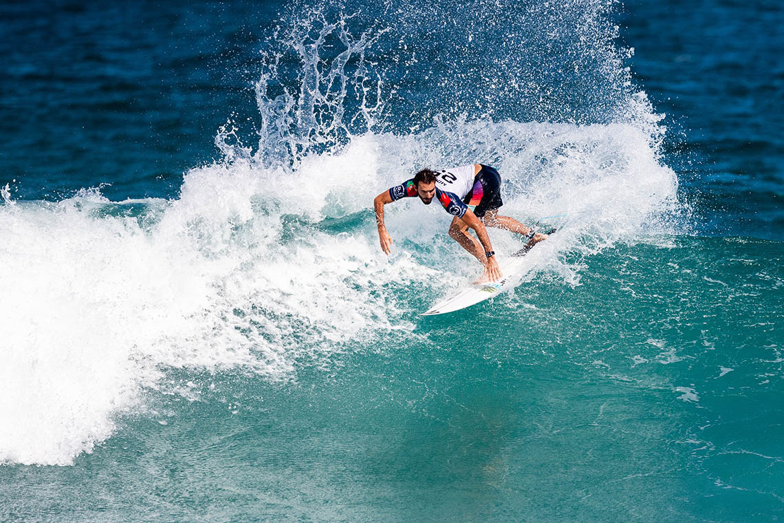 51089Frederico Morais surfa contra Ítalo Ferreira no round 3 do Oi Rio Pro