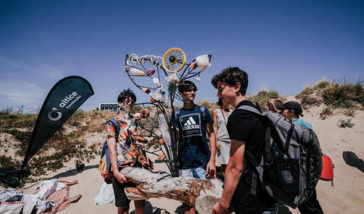 52656Meta de 2 toneladas de resíduos e plástico retirado das praias a ser atingida no Bom Petisco Cascais Pro