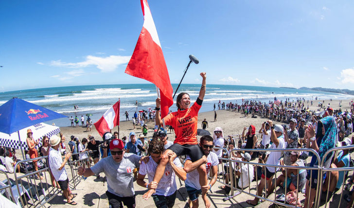 52170Vagas Olímpicas decididas no dia 4 do ISA World Surfing Games no Japão