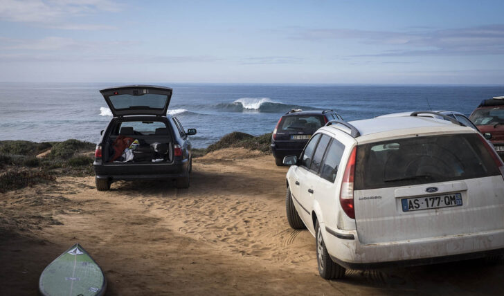 56012#BackToThePast | Visita a um big wave spot no Alentejo | By André Carvalho