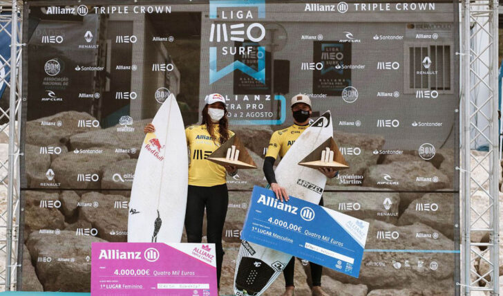 57233Afonso Antunes e Teresa Bonvalot foram os vencedores do Allianz Triple Crown