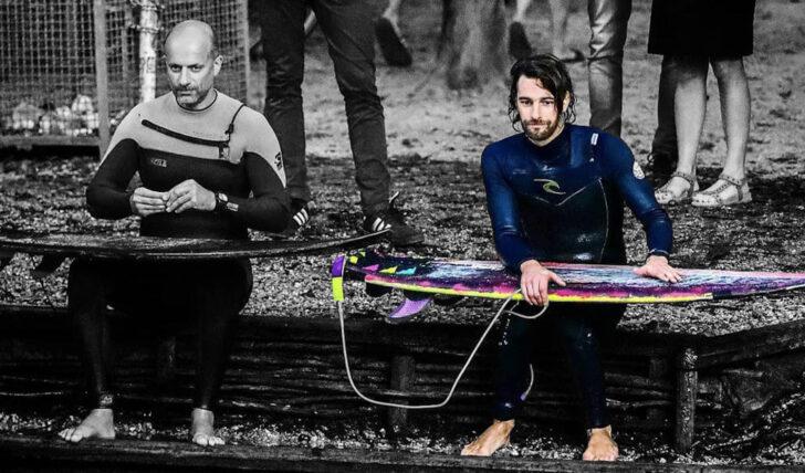 58795Ni Andrade, um surfista português no Rio Eisbach