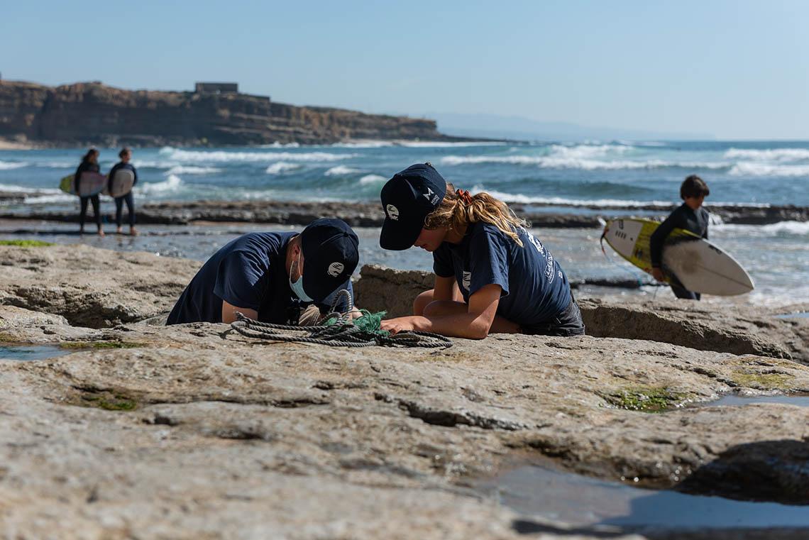 5998998 kg de lixo recolhidos da praia em Ribeira D'Ilhas