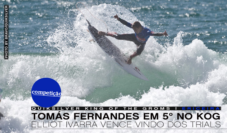 1574Elliot Ivarra vence final europeia do King of the Groms, Tomás Fernandes em 5º
