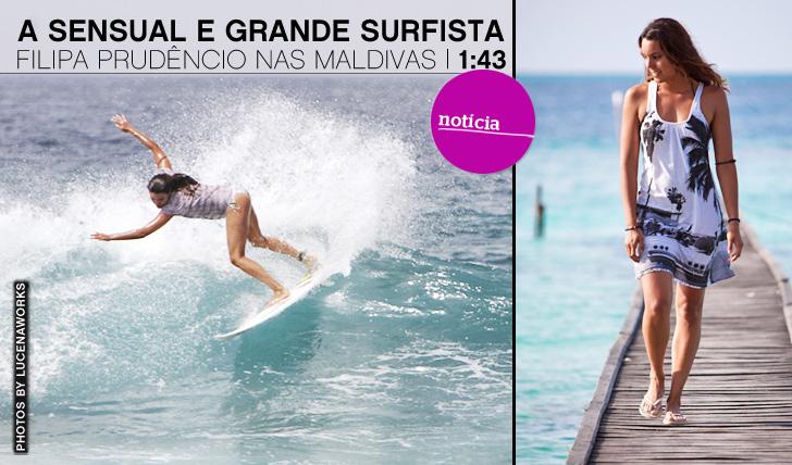 1337A Sensual e Grande Surfista Filipa Prudêncio nas Maldivas | 1:43
